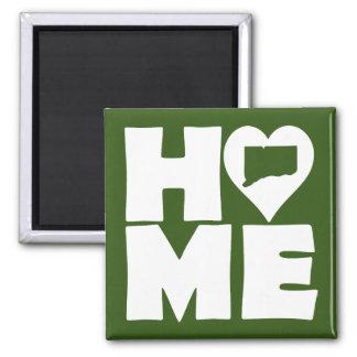 Connecticut Home Heart State Fridge Magnet