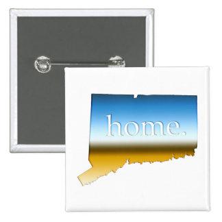 Connecticut home Horizon 2 Inch Square Button