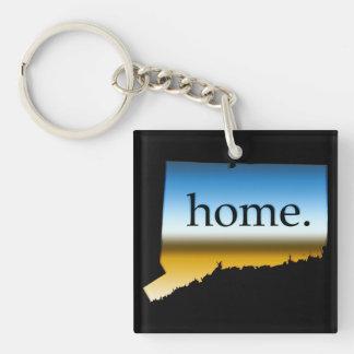Connecticut home Horizon Keychain