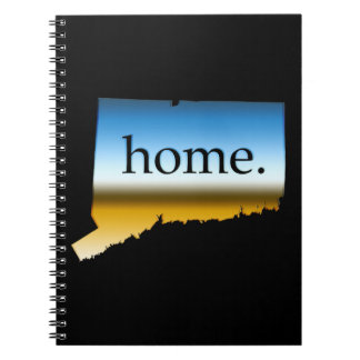 Connecticut home Horizon Spiral Notebooks