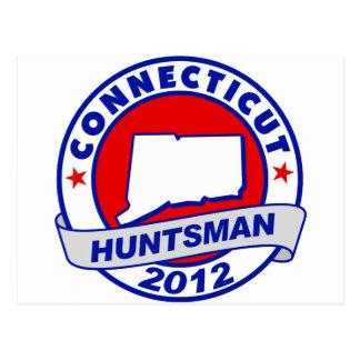 Connecticut Jon Huntsman Postcard