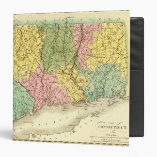 """Connecticut los E.E.U.U. Carpeta 1 1/2"""""""