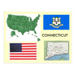 Connecticut, los E.E.U.U. Tarjetas Postales