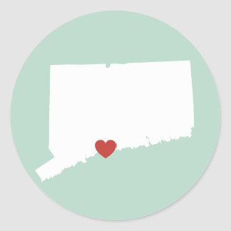 Connecticut Love - Customizable Sticker