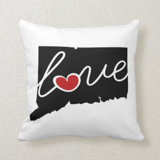 Connecticut Love!  Gifts for CT Lovers Throw Pillow