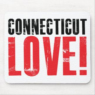 Connecticut Love Mouse Pad