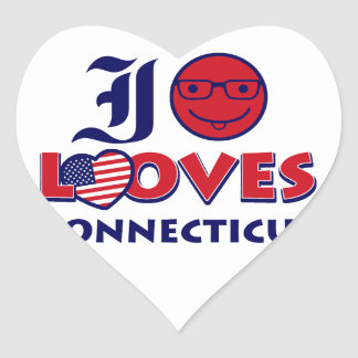 Connecticut lovers design heart stickers