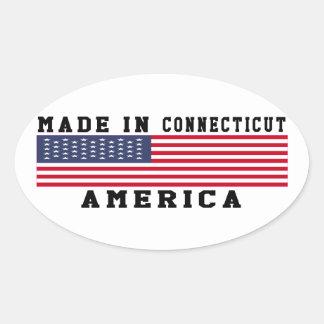 Connecticut Made In Designs Sticker