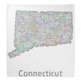 Connecticut map bandana