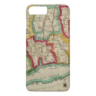 Connecticut Map iPhone 7 Plus Case