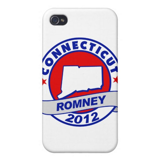 Connecticut Mitt Romney iPhone 4/4S Carcasas