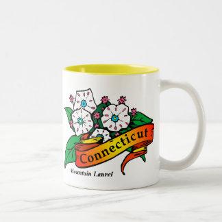 Connecticut Mountain Laurel Coffee Mug