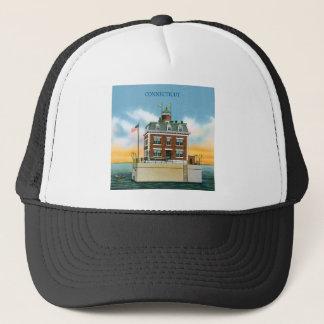 Connecticut New London Ledge Light Trucker Hat