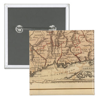 Connecticut, NewEngland Pinback Button