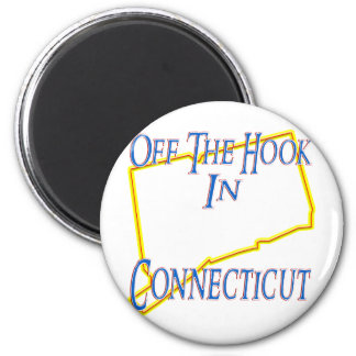 Connecticut - Off The Hook Magnet
