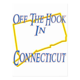Connecticut - Off The Hook Postcard