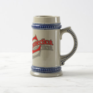 Connecticut openbangle mug