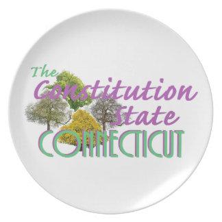 CONNECTICUT PLATE