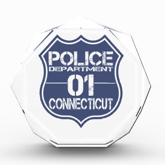 Connecticut Police Department Shield 01 Awards