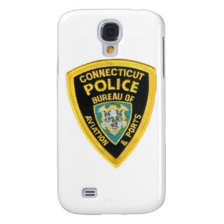 CONNECTICUT POLICE GALAXY S4 COVER
