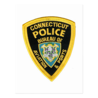 CONNECTICUT POLICE POSTCARD
