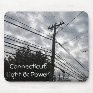 Connecticut Powerlines Mouse Pad