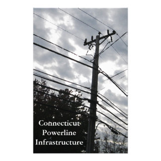 Connecticut Powerlines Stationery
