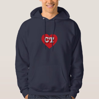 Connecticut Red Heart - Big Love Hoodie