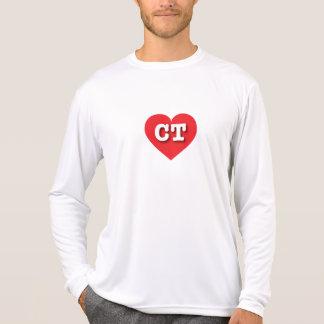 Connecticut Red Heart - Big Love T-Shirt