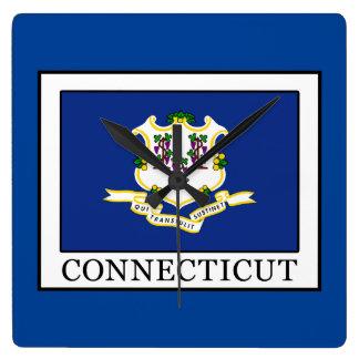 Connecticut Reloj Cuadrado