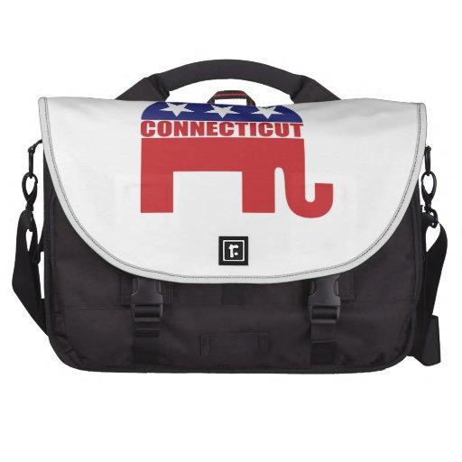 Connecticut Republican Elephant Bags For Laptop