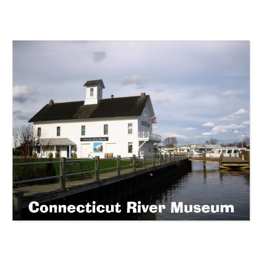 Connecticut River Museum Post Card