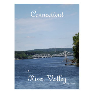 Connecticut River Valley Postcard