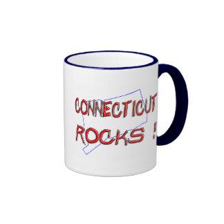 Connecticut ROCKS Mugs