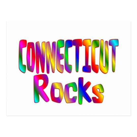 Connecticut Rocks Postcard