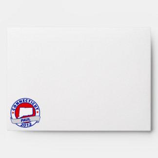 Connecticut Ron Paul Envelopes