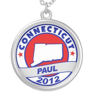 Connecticut Ron Paul Custom Necklace