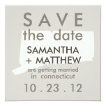 Connecticut Save the Date Cards Personalized Announcement