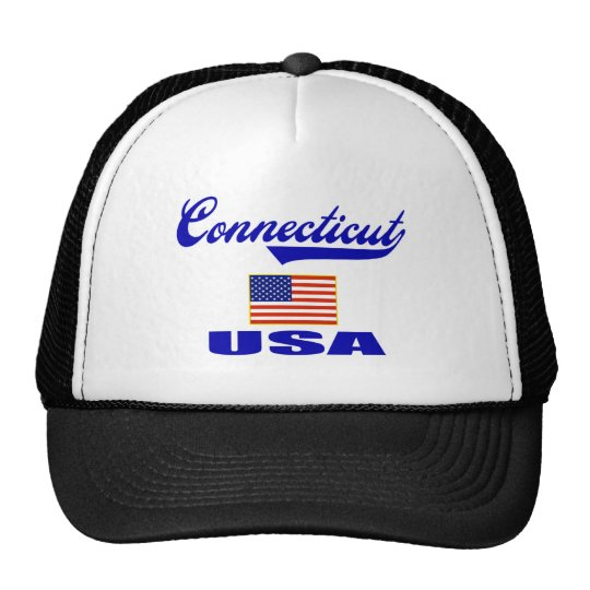 Connecticut Script Trucker Hat