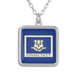 Connecticut Silver Plated Necklace