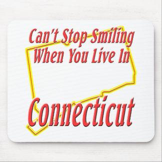 Connecticut - sonriendo alfombrilla de ratón