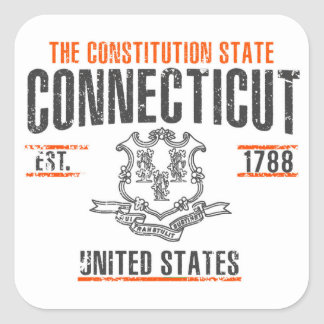 Connecticut Square Sticker