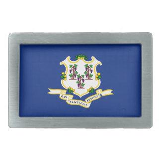 Connecticut State Flag Belt Buckle