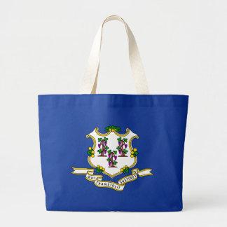 Connecticut State Flag blue bag