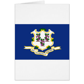Connecticut State Flag Card