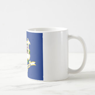 Connecticut State Flag Coffee Mug