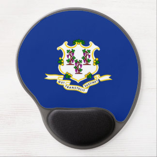 Connecticut State Flag Design Gel Mouse Pad