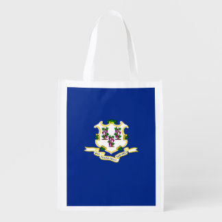 Connecticut State Flag Design Grocery Bag
