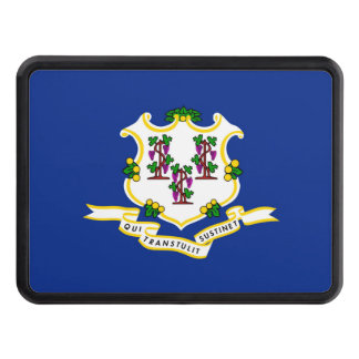 Connecticut State Flag Design Hitch Cover