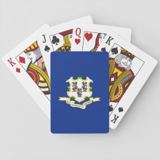 Connecticut State Flag Design Playing Cards